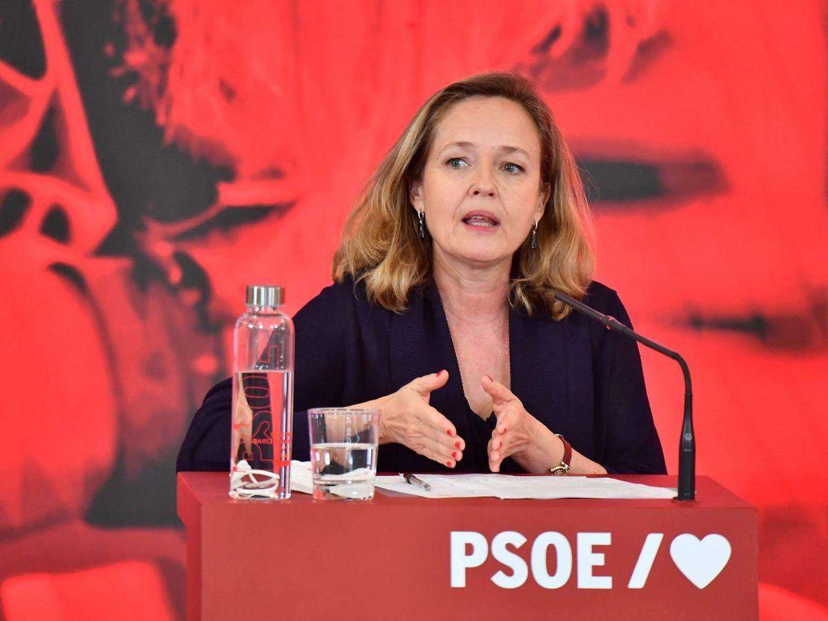 Foto: Nadia Calviño, vicepresidenta segunda del Gobierno. (EFE)