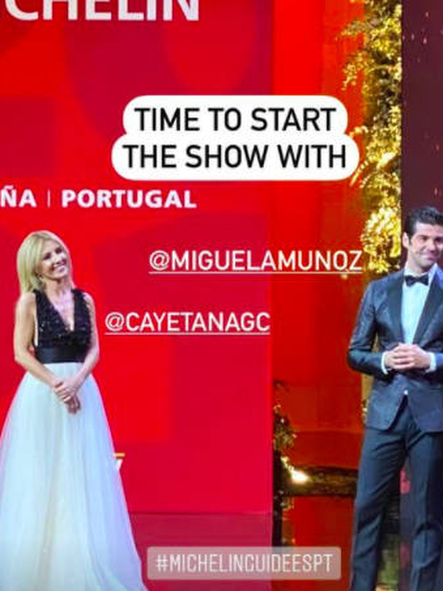 Cayetana Guillén Cuervo y Miguel Ángel Silvestre. (Instagram)