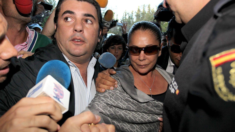 Isabel Pantoja, a su entrada en los juzgados de Marbella. (Getty)