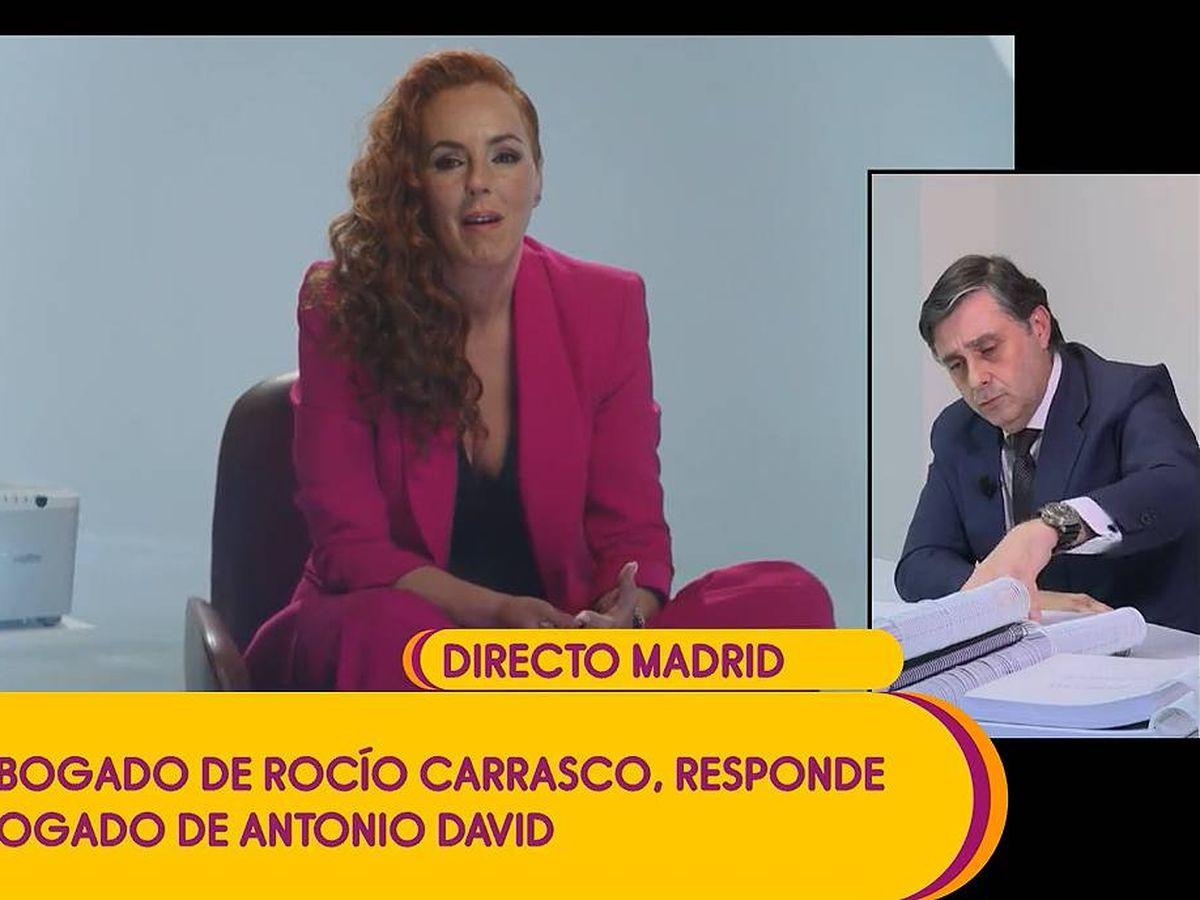 Foto: Carlota Corredera y Javier Vasallo, en 'Sálvame'. (Mediaset(