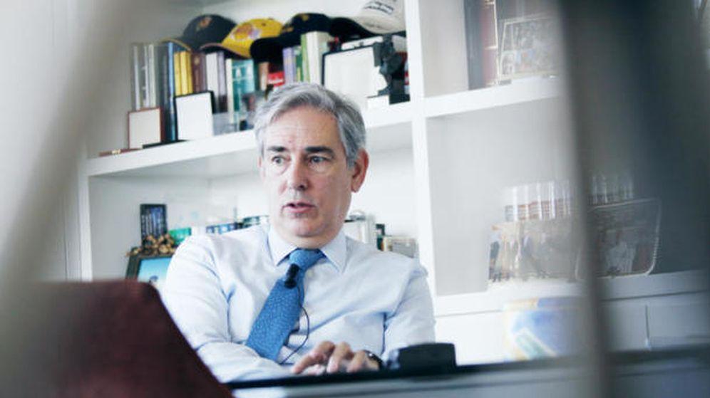 Foto: Antonio Fernández Galiano, presidente de Unedisa (ec).