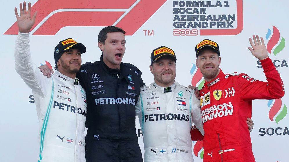 Foto: El Gran Premio de Azerbaiyán de Fórmula 1 desde otro punto de vista