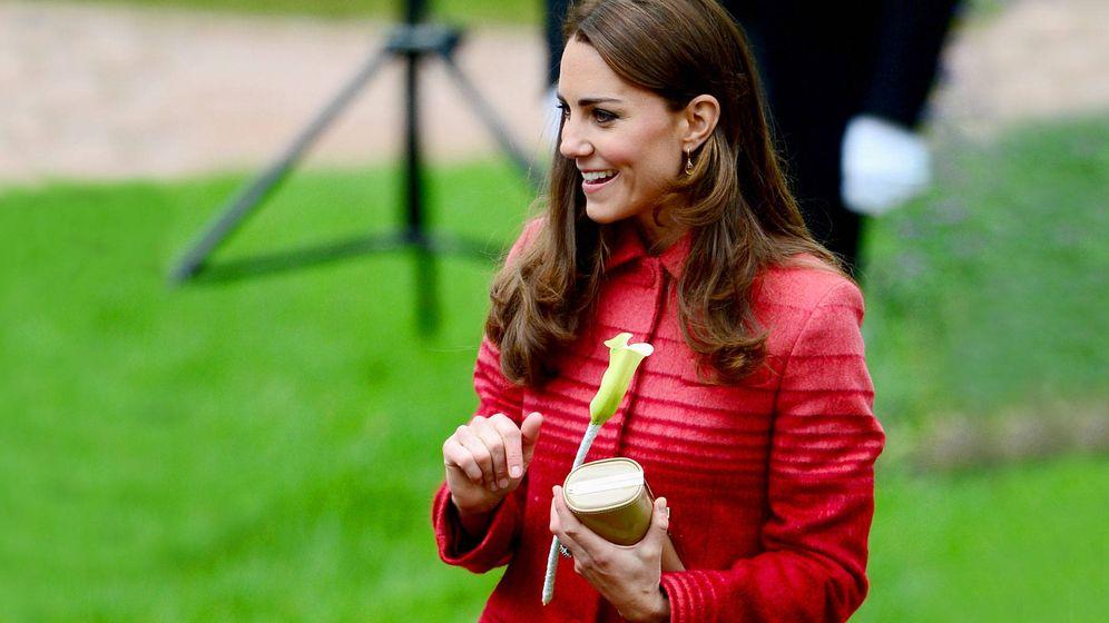 Foto: La duquesa de Cambridge en una foto de archivo. (Getty)