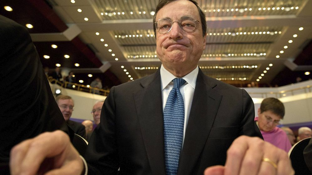 Foto: El presidente del Banco Central Europeo (BCE), Mario Draghi. (EFE)