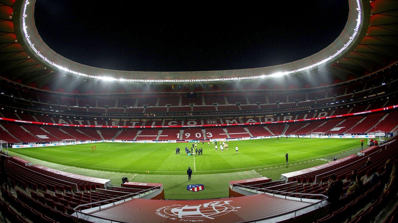 Óscar Gil la lía parda en el Wanda Metropolitano