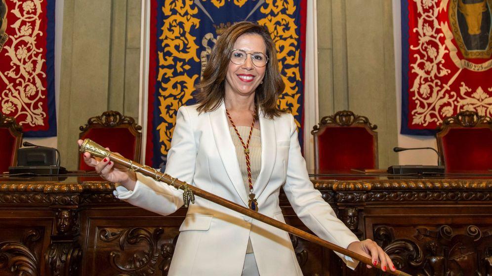 Foto: Ana belén Castejón (psoe), alcaldesa de cartagena tras acuerdo con cs y pp. EFE