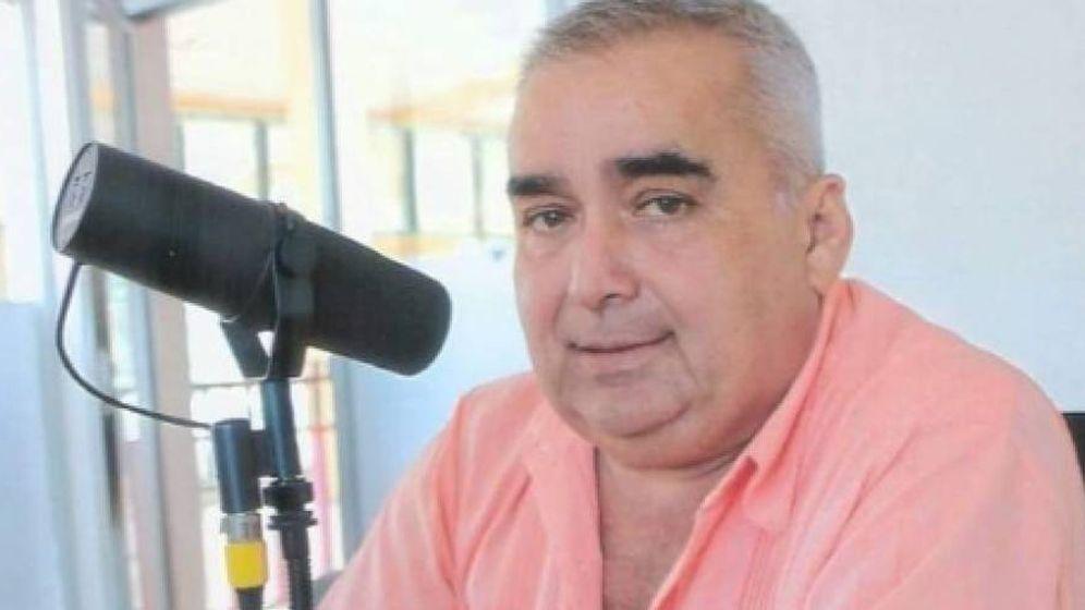 Foto: El locutor Jesús Ramos Rodríguez. Foto: Tabasco Hoy