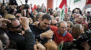 El color del dinero en las primarias del PSOE