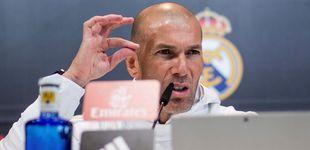 Post de Zidane, el técnico que no ve