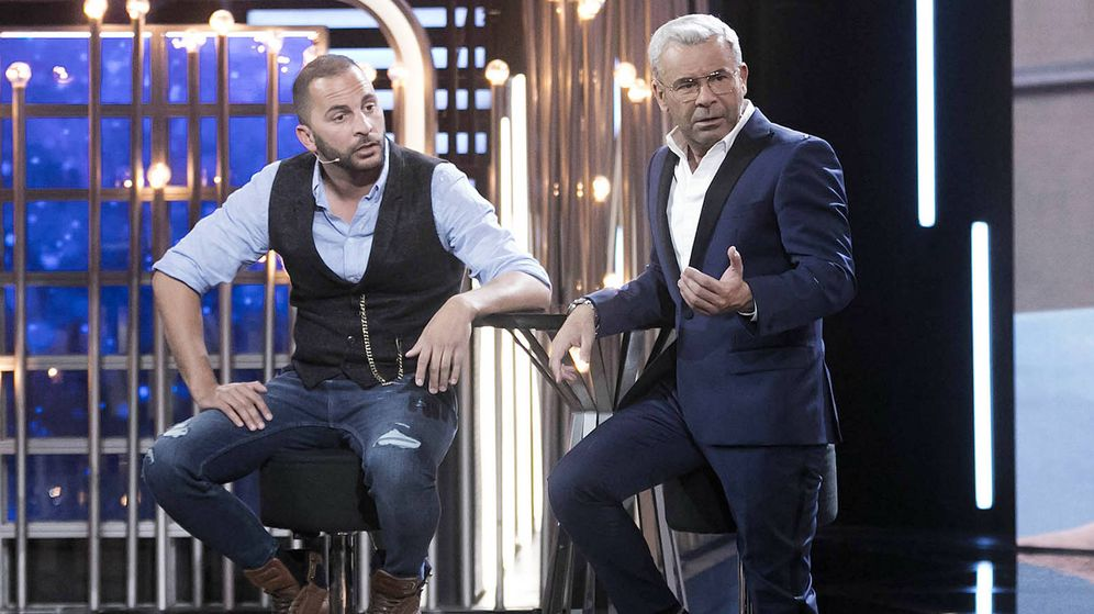 Foto: Jorge Javier Vázquez con Antonio Tejado en 'GH Dúo'. (Mediaset España)