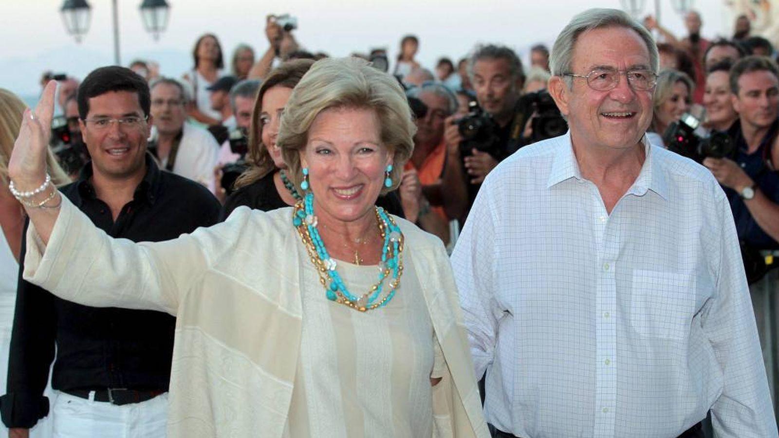 Foto: Constantino de Grecia y Ana María en una imagen de archivo. (EFE)