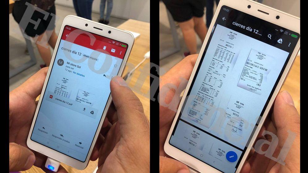 Foto: Los datos eran accesibles desde los móviles expuestos a disposición de los clientes.