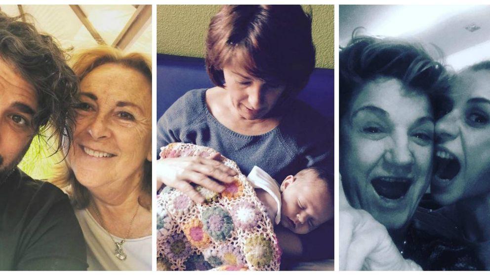 Los famosos felicitan a sus madres en Instagram