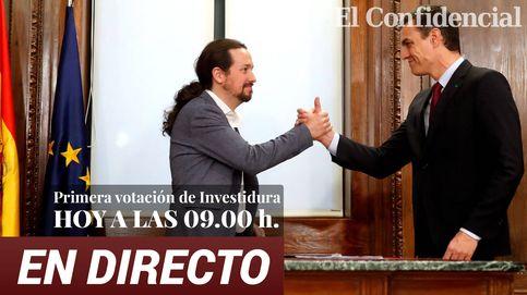 La sesión de investidura de Pedro Sánchez, en directo: sigue en 'streaming' la primera jornada del debate