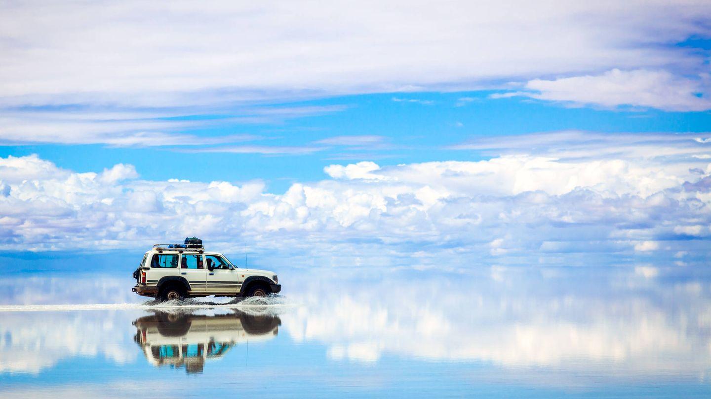 Como estar conduciendo en medio del cielo. (iStock)