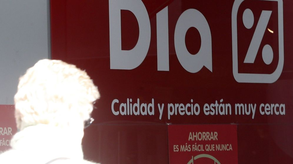 Foto: Acceso a un supermercado DIA. (EFE)
