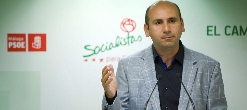 Foto: El secretario de Política Institucional del PSOE en Andalucía, Francisco Conejo. (EFE)