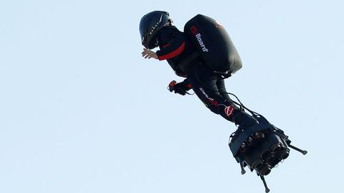 El soldado volador fracasa en su intento de cruzar el Canal de la Mancha