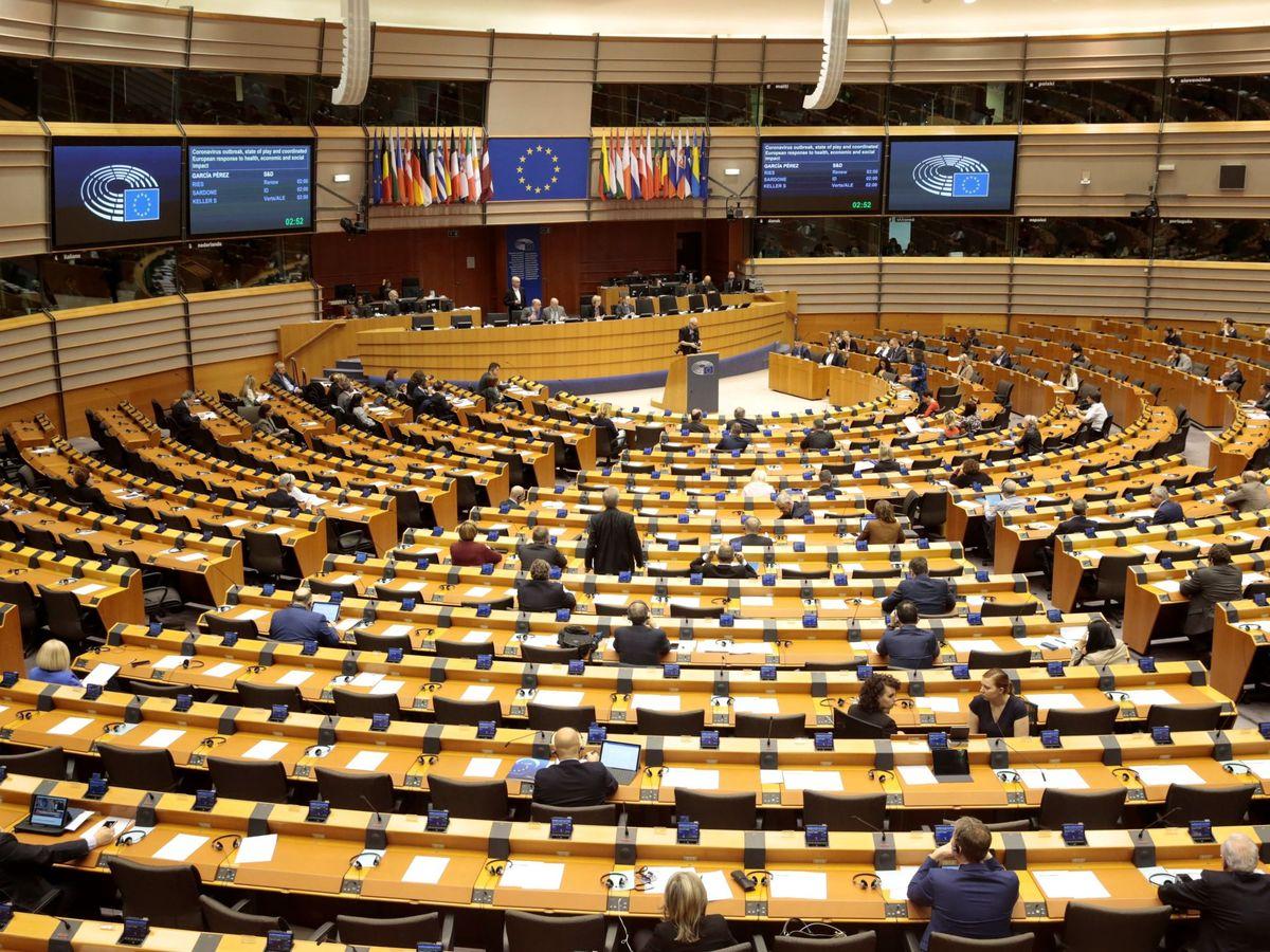 Foto: Vista general del Parlamento Europeo. (EFE)