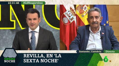 El toque de atención de Revilla a Iñaki López por esta pregunta en La Sexta