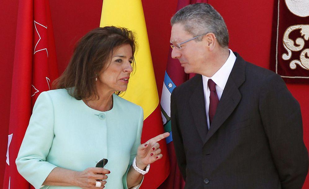 Foto: Ana Botella y Alberto Ruiz-Gallardón. (EFE)