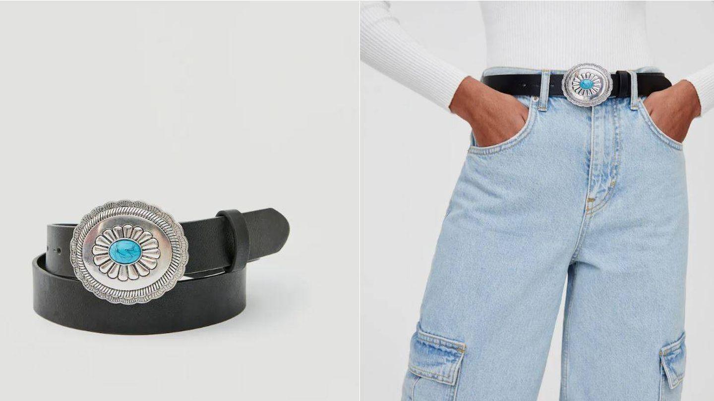 Cinturón de Pull and Bear. (Cortesía)