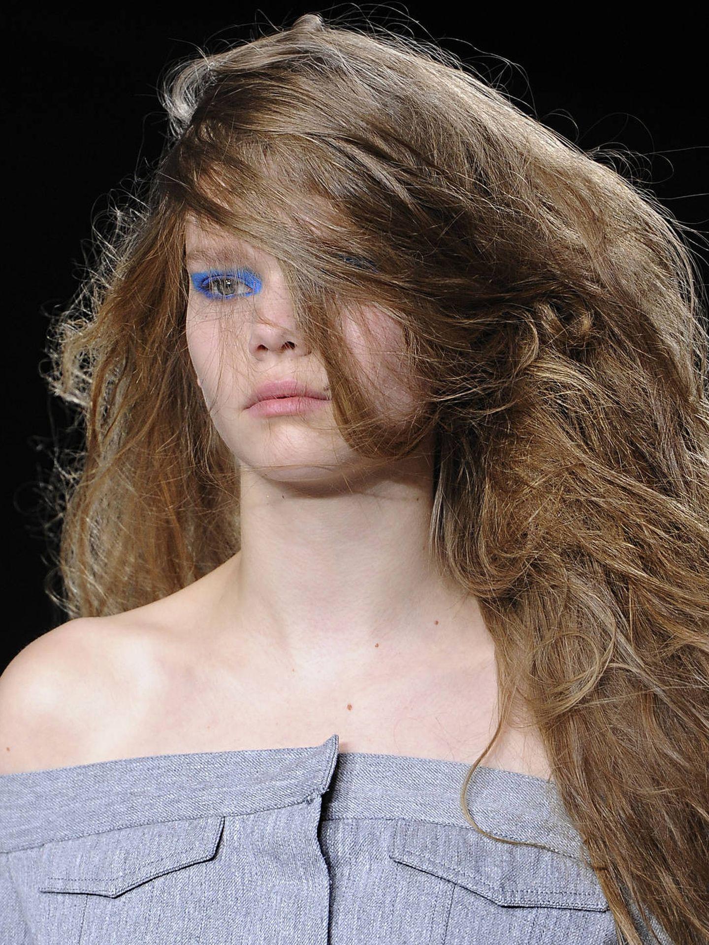 Guía para secar el pelo eliminando el encrespamiento de la ecuación. (Imaxtree)