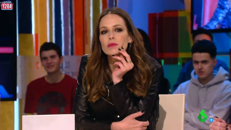 Eva González en 'Zapeando'. (Mediaset España)