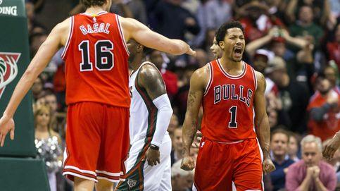 Los Bulls de Gasol están a un paso de semis tras sufrir y tirar del mejor Rose