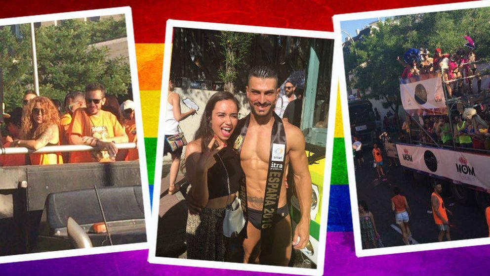 Calor, buen rollo y amor: así vivimos el desfile del Orgullo Gay en Madrid