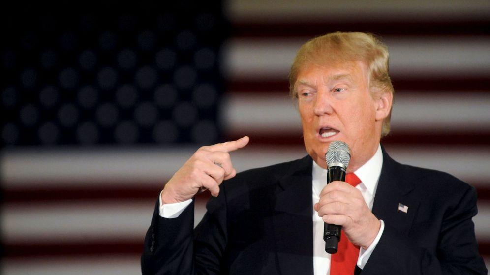 Foto: El candidato republicano Donald Trump. (Reuters)