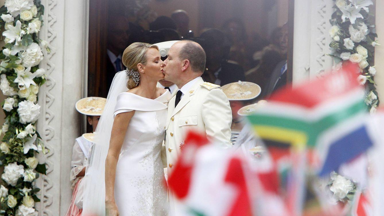 Foto: Los príncipes de Mónaco el día de su boda en julio de 2011 (Gtres)