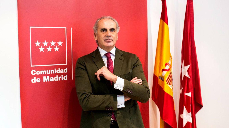 Foto: Enrique Ruiz Escudero, consejero de Sanidad de la CAM. (Alejandro Martínez Vélez)
