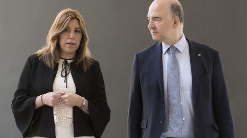 Susana Díaz a Moscovici: No me queda otra que respetar lo que decida el PSOE