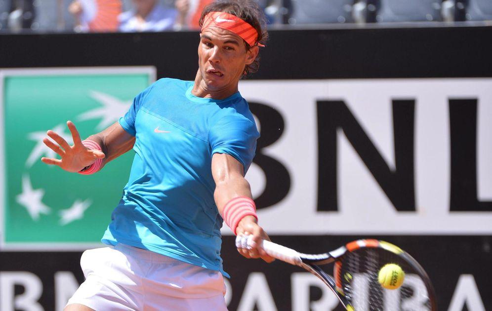 Foto: Rafa Nadal se mete en cuartos de final de Roma.