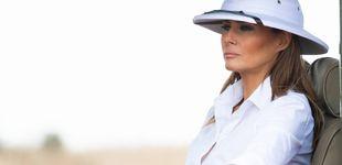 Post de Melania Trump no logra que el final de su viaje africano se escape de las críticas