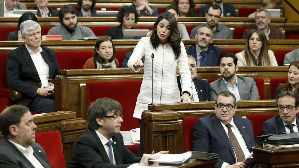 Foto: La líder de Ciudadanos en el Parlament, Inés Arrimadas. (EFE)