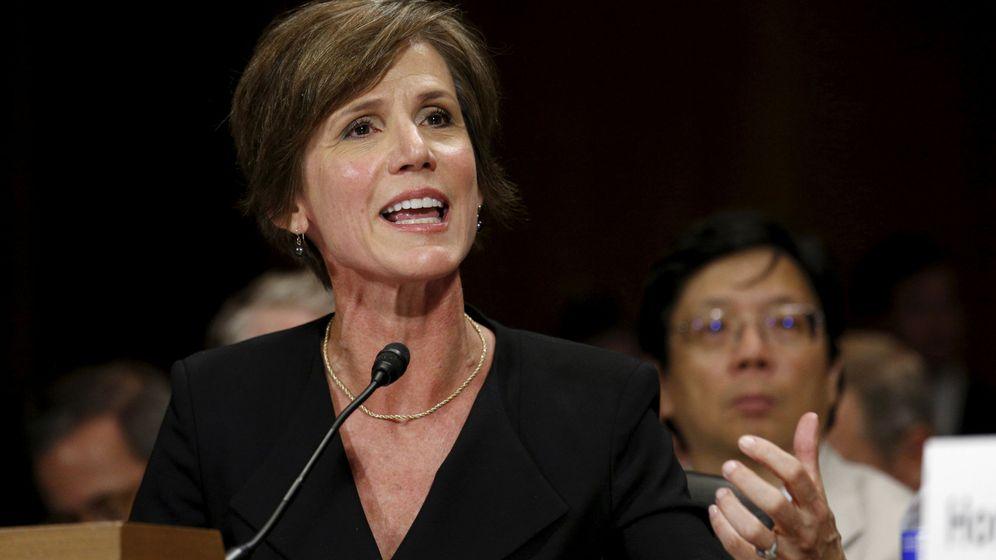 Foto: La hasta ahora fiscal general, Sally Yates. (Reuters)