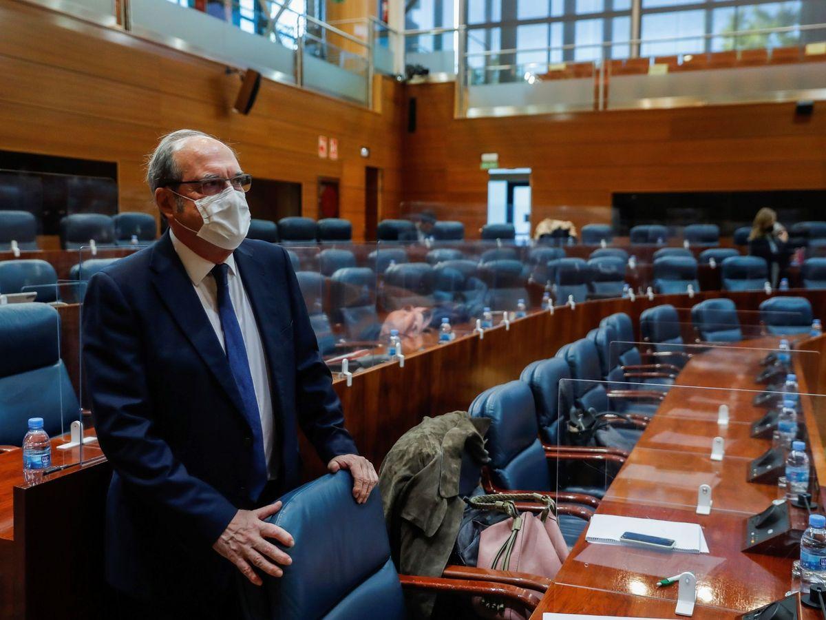 Foto: Ángel Gabilondo, en una imagen de archivo, en la Asamblea de Madrid. (EFE)
