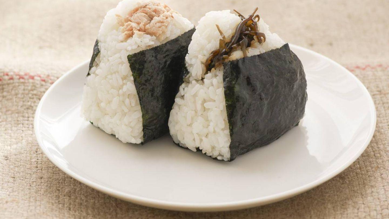 El onigiri es un snack para cualquier momento del día.