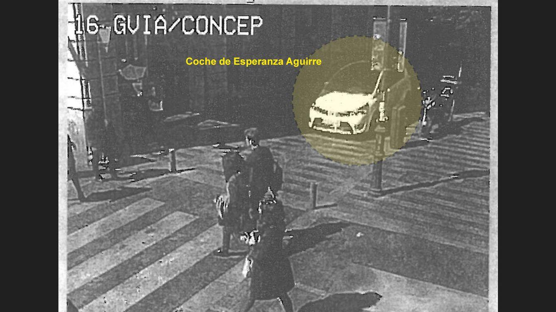 Foto: Las imágenes de la fuga de Esperanza Aguirre
