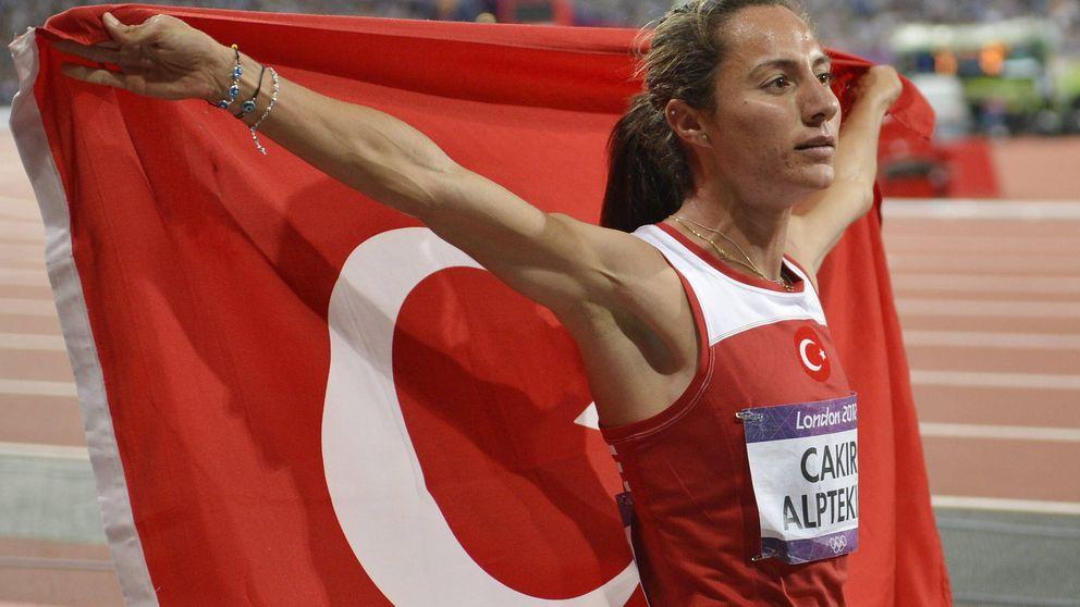 La campeona olímpica de 1.500m de 2012, suspendida 8 años por dopaje