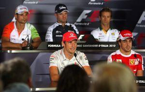 Button deja una puerta abierta a Ferrari... pero se la cierra a Alonso