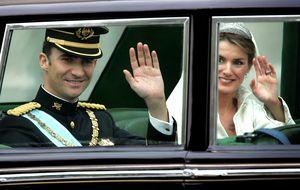 Felipe VI pasará por Cibeles y Gran Vía para evitar las calles estrechas