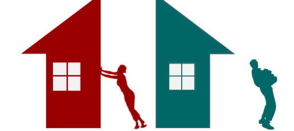 Foto: Vender, perder dinero, convivir... ¿qué pasa con la vivienda tras un divorcio sin hijos?