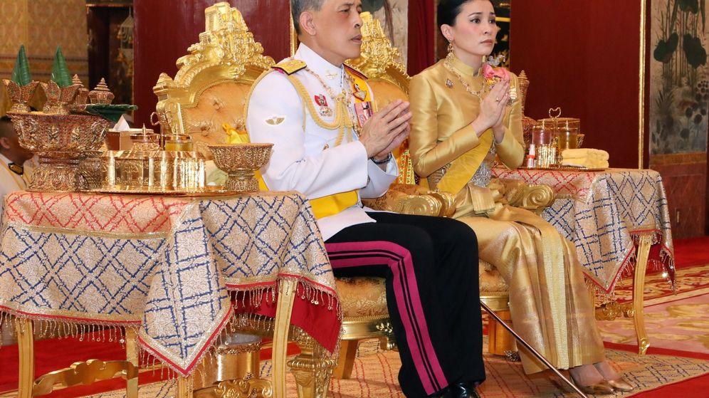 Foto: Coronación del rey de Tailandia. (EFE)