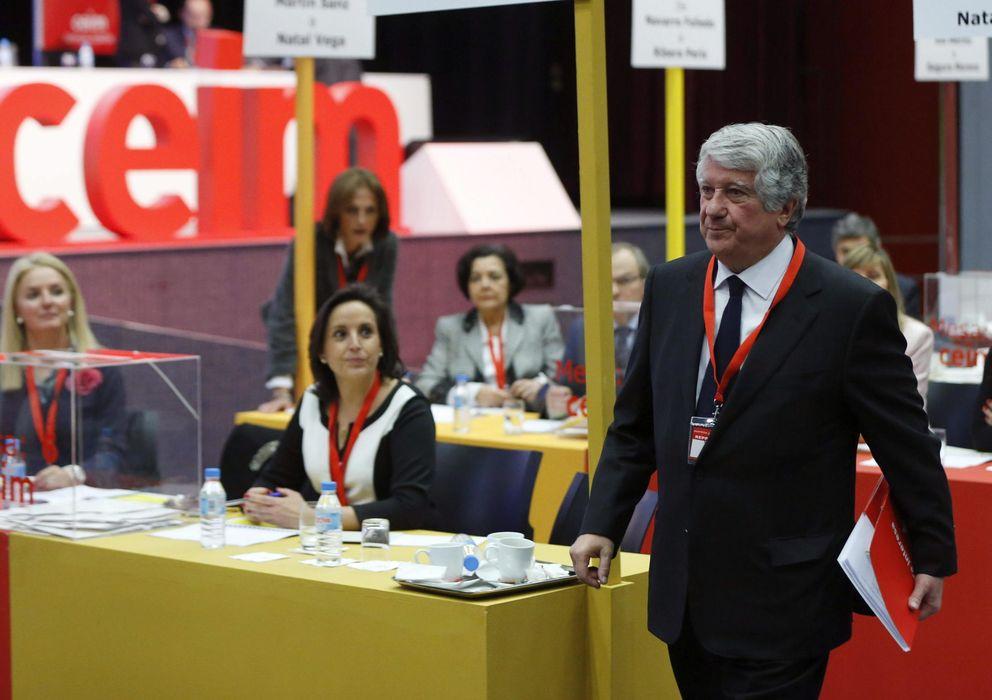 Foto: el presidente de la Confederación Empresarial de Madrid, Arturo Fernández. (EFE)