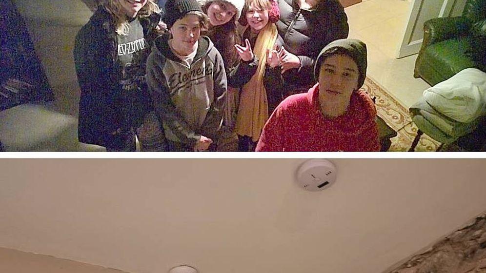 Foto: La familia Baker posó en su casa alquilada a través de Airbnb para la cámara oculta (Foto: Facebook)
