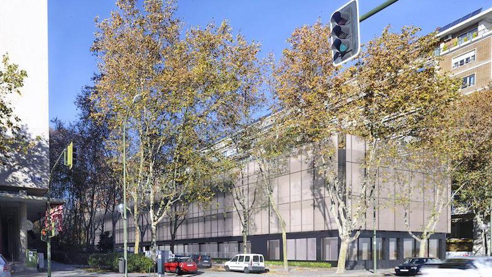 Foto: El pasado mes de agosto, el fondo Activum adquirió un edificio de oficinas en la calle Manuel de Falla en Madrid.