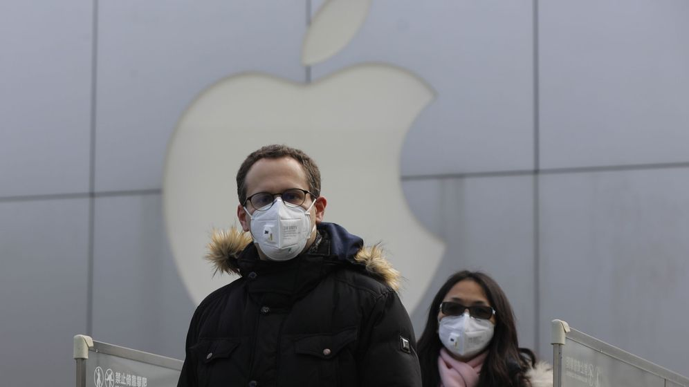 Foto: Tienda de Apple en Pekín (Reuters)